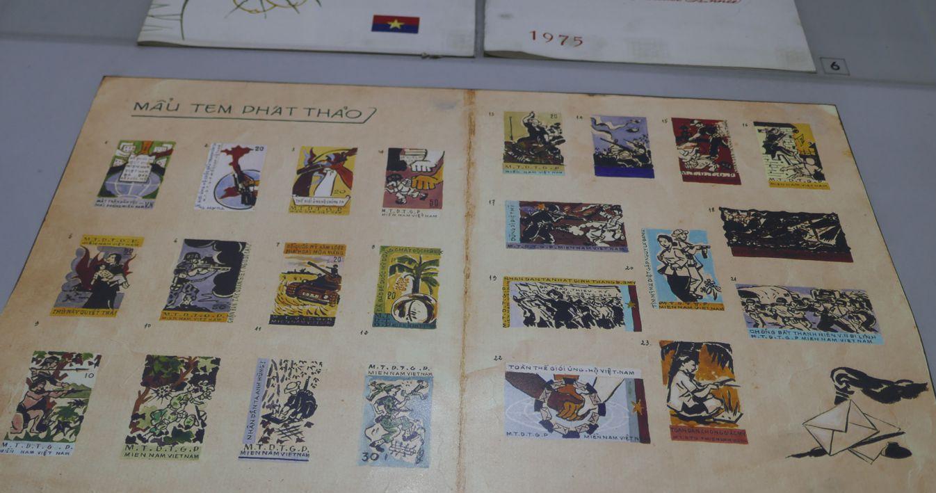Hanoi - Geschichte - Briefmarken Kriegszeit