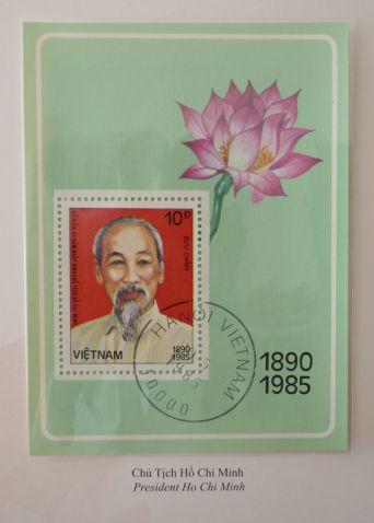 Ho Chi Minh-Briefmarke
