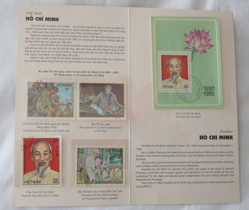 Ho Chi Minh-Gedenk-Briefmarken