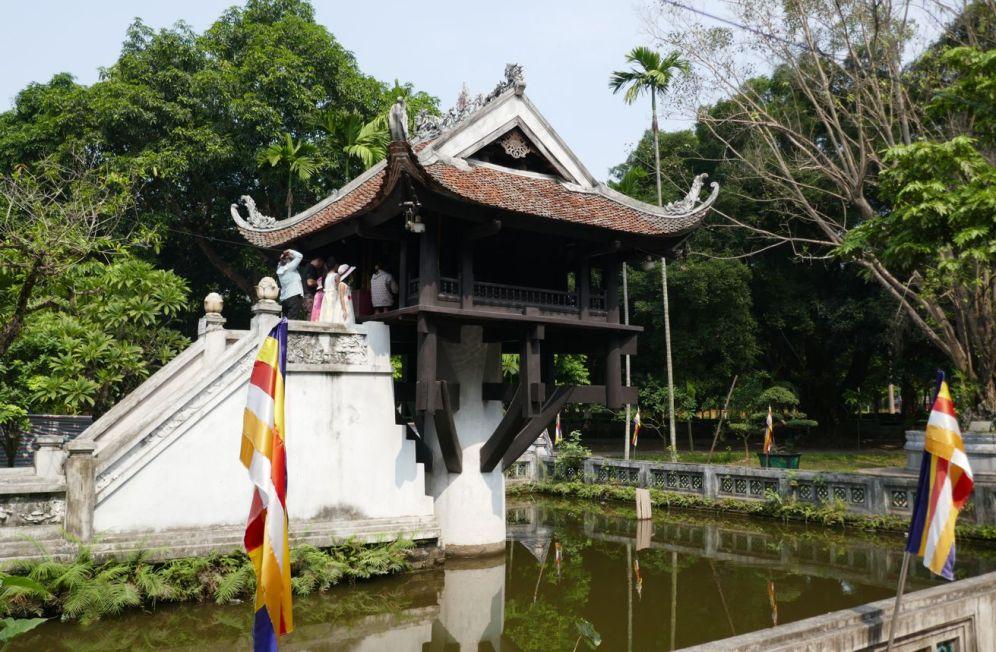 Hanoi - Ein-Säulen-Pagode