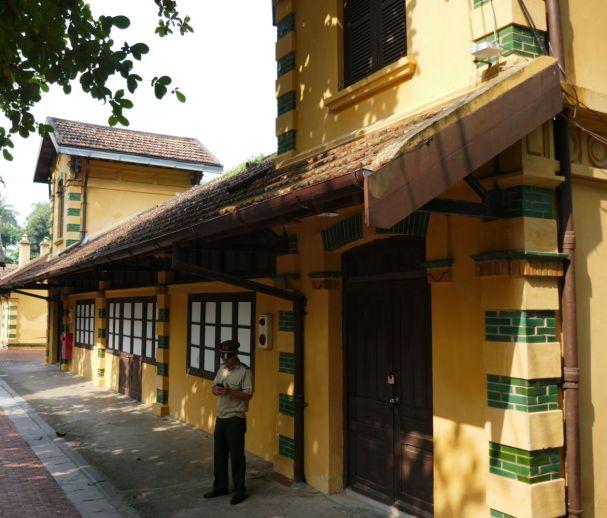 Hanoi - Ho Chi Minh-Haus, altes Wohngebäude