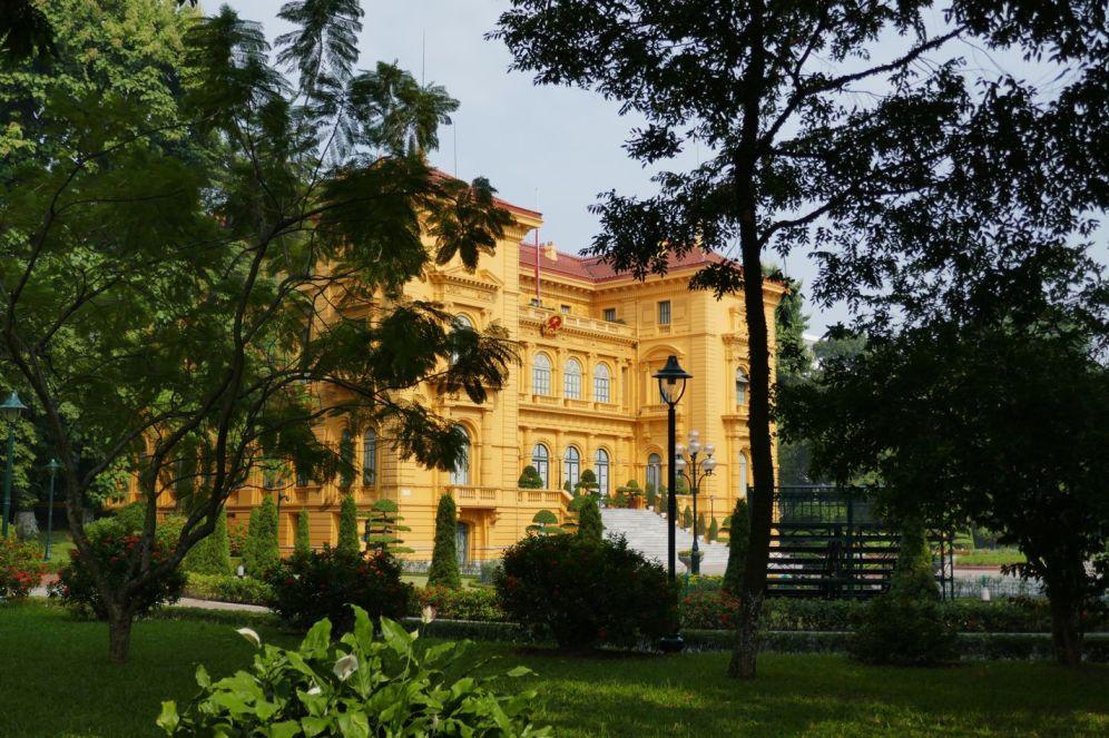Hanoi - altes Parlamentsgebäude