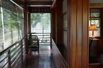 Hanoi - neues Ho Chi Minh-Haus, Wohnbereich