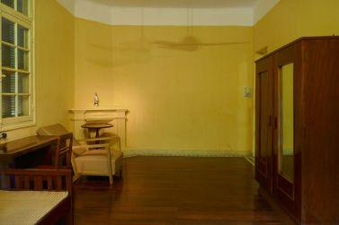 Hanoi - Ho Chi Minh-Haus, Schlafzimmer im alten Wohngebäude