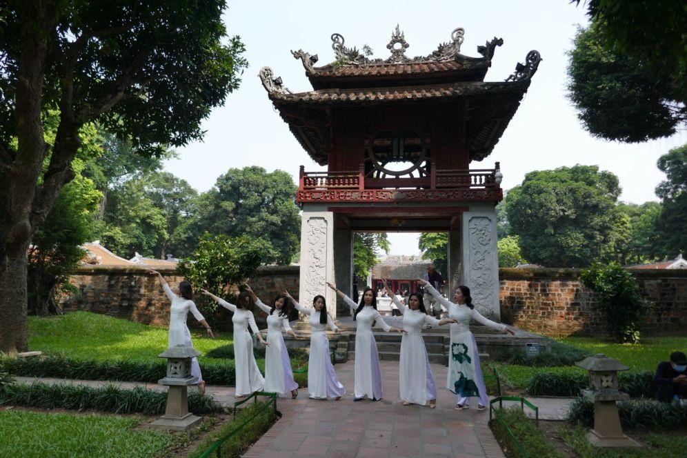 Hanoi - II - Literaturtempel-1