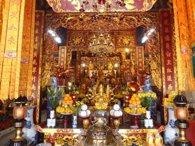Hanoi - II - Tempel neben Ein-Säulen-Pagode-5