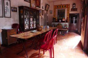 Hanoi - Tempel, Wohnbereich
