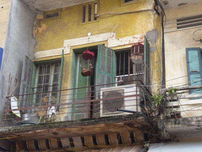 Hanoi - Altstadt-Balkon
