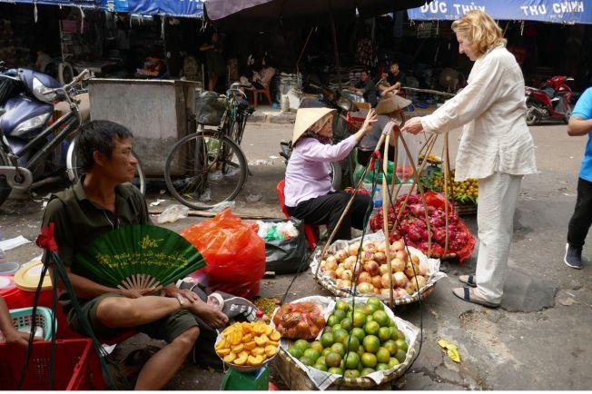Hanoi - Markt-10