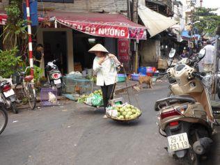 Hanoi - Straßenverkauf