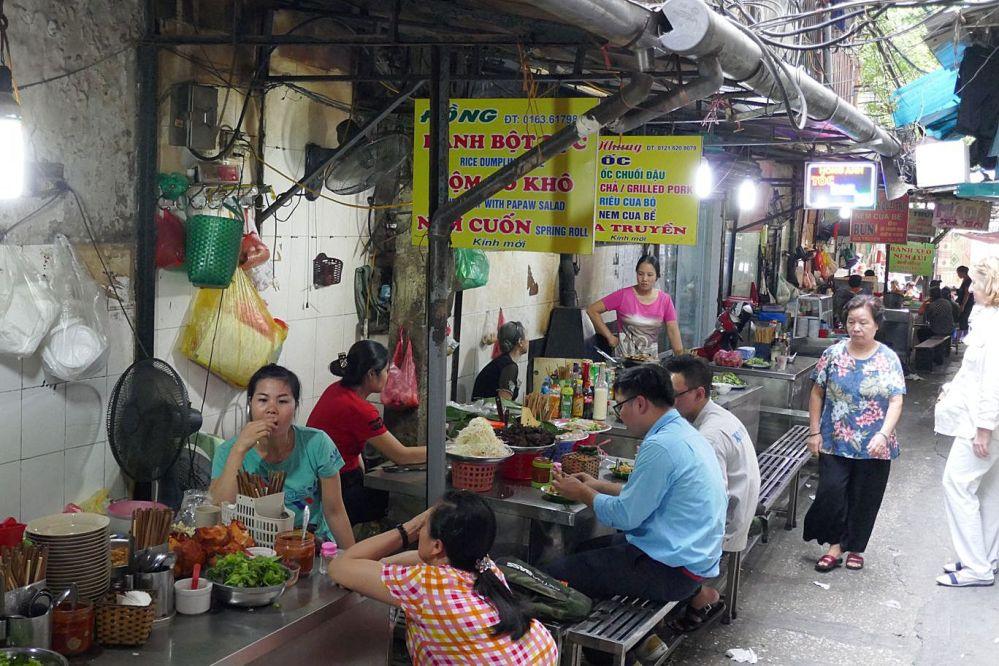 Hanoi - Markt Garküche-5
