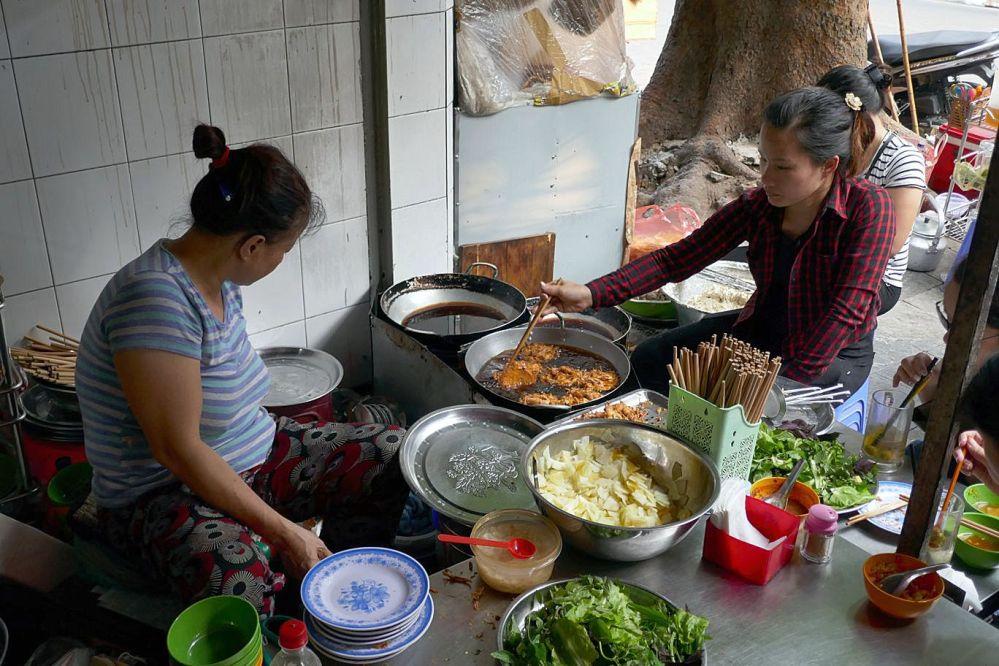 Hanoi - Markt Garküche-6
