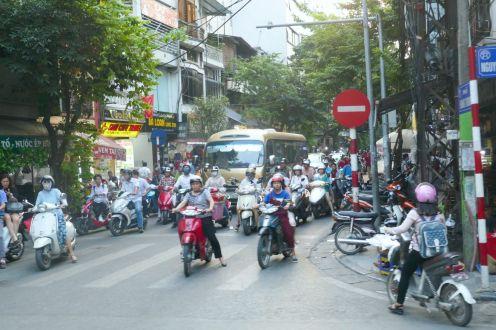 Hanoi - Straßenverkehr