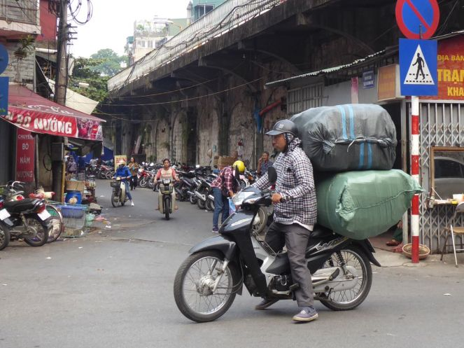 Hanoi - Transport-Moped