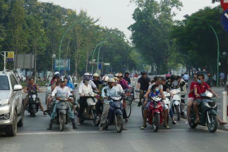 Hanoi - Moped-4