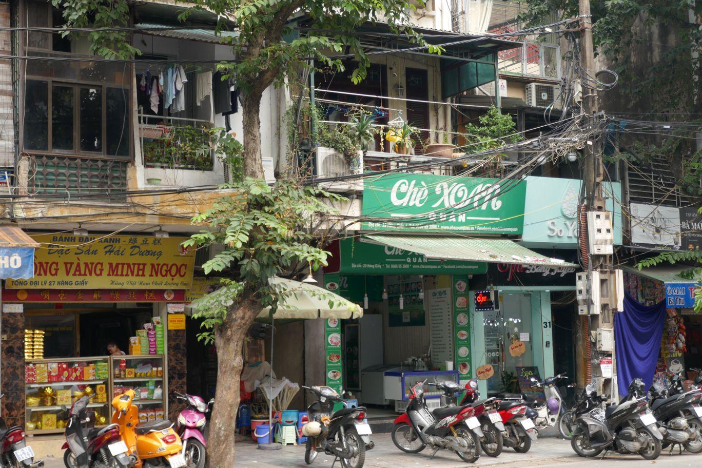 Hanoi - Moped Altstadt
