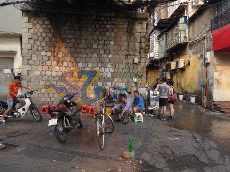 Hanoi - Strassen-Szene-41