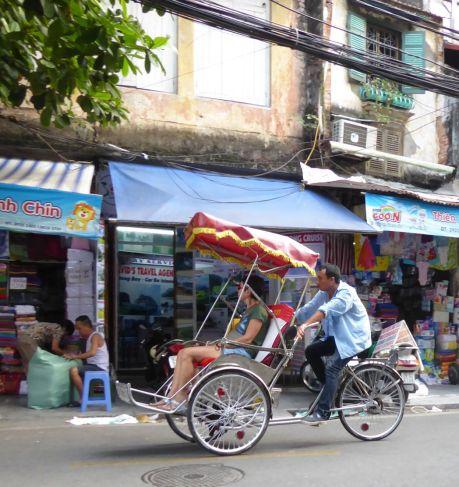 Hanoi - Rikscha