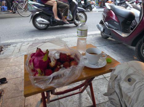 Hanoi - Kaffee-Tisch