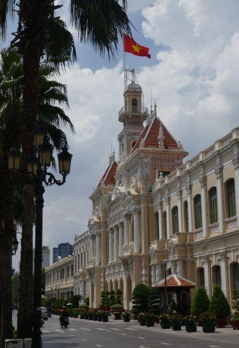Ho Chi Minh-Stadt - Rathaus aus der Kolonialzeit