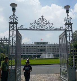 Ho Chi Minh City - Wiedervereinigungspalast, früherer Regierungssitz von Südvietnam