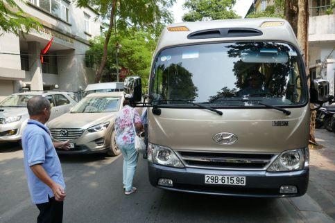 Hanoi-Halong - Bus