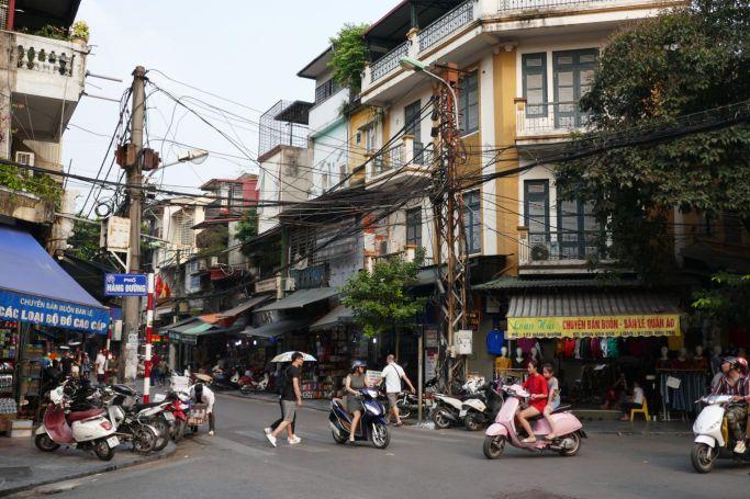 Hanoi - Strassen-Szene-5